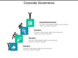 Corporate Governance Ppt Powerpoint Presentation Gallery Infographics Cpb