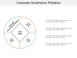 Corporate Governance Problems Ppt Powerpoint Presentation File Graphics Template Cpb