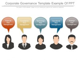 Corporate Governance Template Example Of Ppt