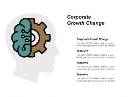 Corporate Growth Change Ppt Powerpoint Presentation Pictures Template Cpb