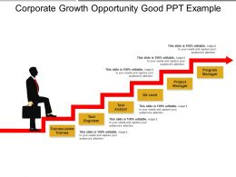 Corporate Growth Opportunity Good Ppt Example