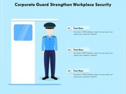 Corporate Guard Strengthen Workplace Security
