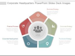 Corporate Headquarters Powerpoint Slides Deck Images
