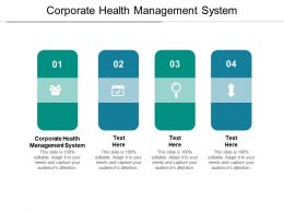 Corporate Health Management System Ppt Powerpoint Presentation Styles Layout Ideas Cpb