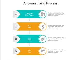 Corporate Hiring Process Ppt Powerpoint Presentation Outline Structure Cpb