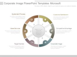 Corporate Image Powerpoint Templates Microsoft