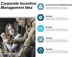 Corporate Incentive Management Idea Ppt Powerpoint Presentation Gallery Sample Cpb