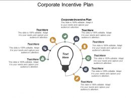 Corporate Incentive Plan Ppt Powerpoint Presentation Infographic Template Professional Cpb