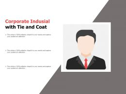 Corporate Indusial With Tie And Coat