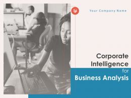 Corporate Intelligence For Business Analysis Powerpoint Presentation Slides
