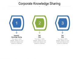 Corporate Knowledge Sharing Ppt Powerpoint Presentation Inspiration Show Cpb