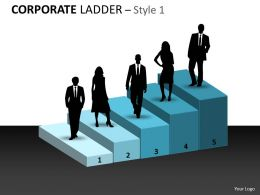Corporate Ladder Style Template