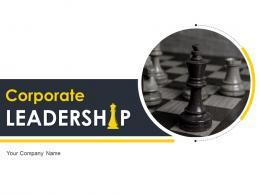 Corporate Leadership Powerpoint Presentation Slides