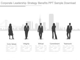 Corporate Leadership Strategy Benefits Ppt Sample Download