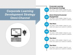 Corporate Learning Development Strategy Omni Channel Customer Engagement Cpb