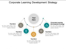 Corporate Learning Development Strategy Ppt Powerpoint Presentation Icon Demonstration Cpb