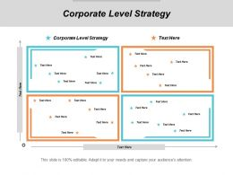 Corporate Level Strategy Ppt Powerpoint Presentation File Smartart Cpb