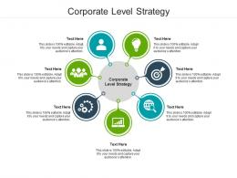 Corporate Level Strategy Ppt Powerpoint Presentation Gallery Images Cpb