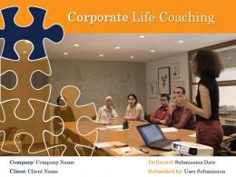 Corporate Life Coaching Powerpoint Presentation Slides