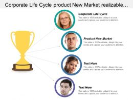 Corporate Life Cycle Product New Market Realizable Quantifiable