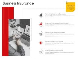 Corporate Management Business Insurance Ppt Professional