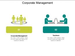 Corporate Management Ppt Powerpoint Presentation Show Guide Cpb