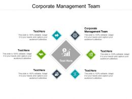 Corporate Management Team Ppt Powerpoint Presentation Pictures Examples Cpb