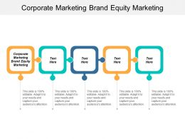 Corporate Marketing Brand Equity Marketing Ppt Powerpoint Presentation File Good Cpb