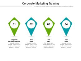 Corporate Marketing Training Ppt Powerpoint Presentation Layouts Inspiration Cpb