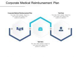 Corporate Medical Reimbursement Plan Ppt Powerpoint Presentation Icons Cpb