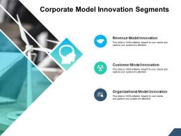 Corporate Model Innovation Segments Ppt Powerpoint Presentation Infographic Template Design Templates