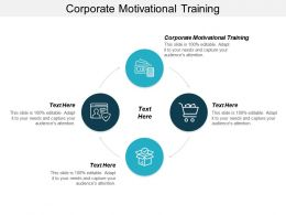 Corporate Motivational Training Ppt Powerpoint Presentation Styles Information Cpb