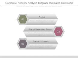 Corporate Network Analysis Diagram Templates Download