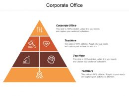 Corporate Office Ppt Powerpoint Presentation Pictures Outfit Cpb
