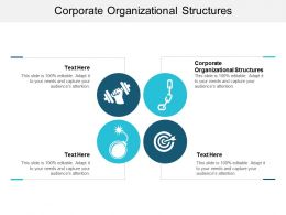 Corporate Organizational Structures Ppt Powerpoint Presentation Inspiration Backgrounds Cpb