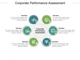 Corporate Performance Assessment Ppt Powerpoint Presentation Outline Show Cpb