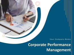 Corporate Performance Management Powerpoint Presentation Slides