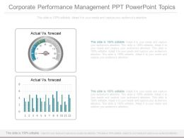 Corporate Performance Management Ppt Powerpoint Topics