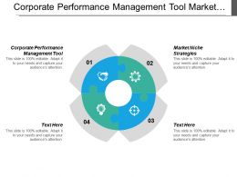 Corporate Performance Management Tool Market Niche Strategies Differentiation Strategy Cpb