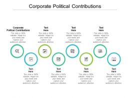 Corporate Political Contributions Ppt Powerpoint Presentation Styles Summary Cpb