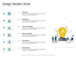 Corporate Profiling Design Section Work Ppt Demonstration