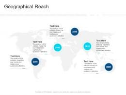 Corporate Profiling Geographical Reach Ppt Rules
