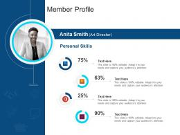Corporate Profiling Member Profile Ppt Themes