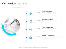 Corporate Profiling Our Services Ppt Rules