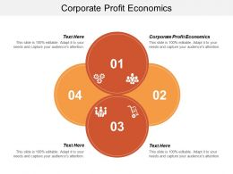 Corporate Profit Economics Ppt Powerpoint Presentation Gallery Icons Cpb