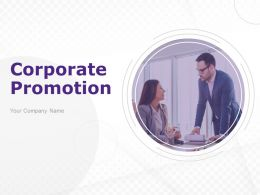 Corporate Promotion Powerpoint Presentation Slides