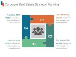Corporate Real Estate Strategic Planning Ppt Design Templates