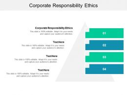Corporate Responsibility Ethics Ppt Powerpoint Presentation Slides Aids Cpb