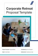 Corporate Retreat Proposal Example Document Report Doc Pdf Ppt