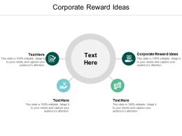 Corporate Reward Ideas Ppt Powerpoint Presentation Slides Clipart Images Cpb